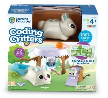 Bunny Coding Critter