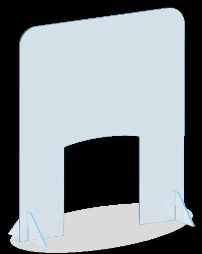 Protection Plexi - Bureau de vote - Urne