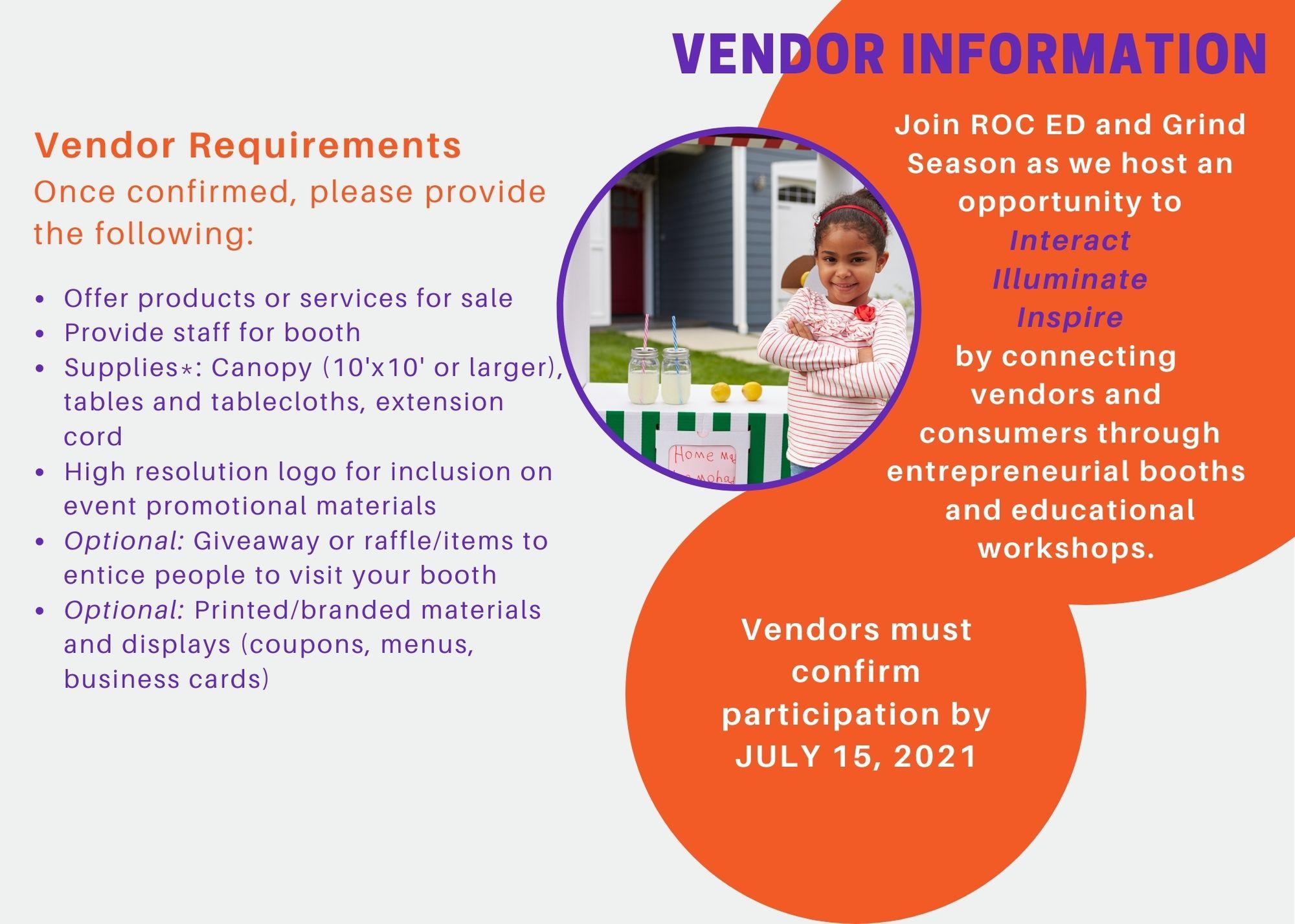 Vendor Requirements