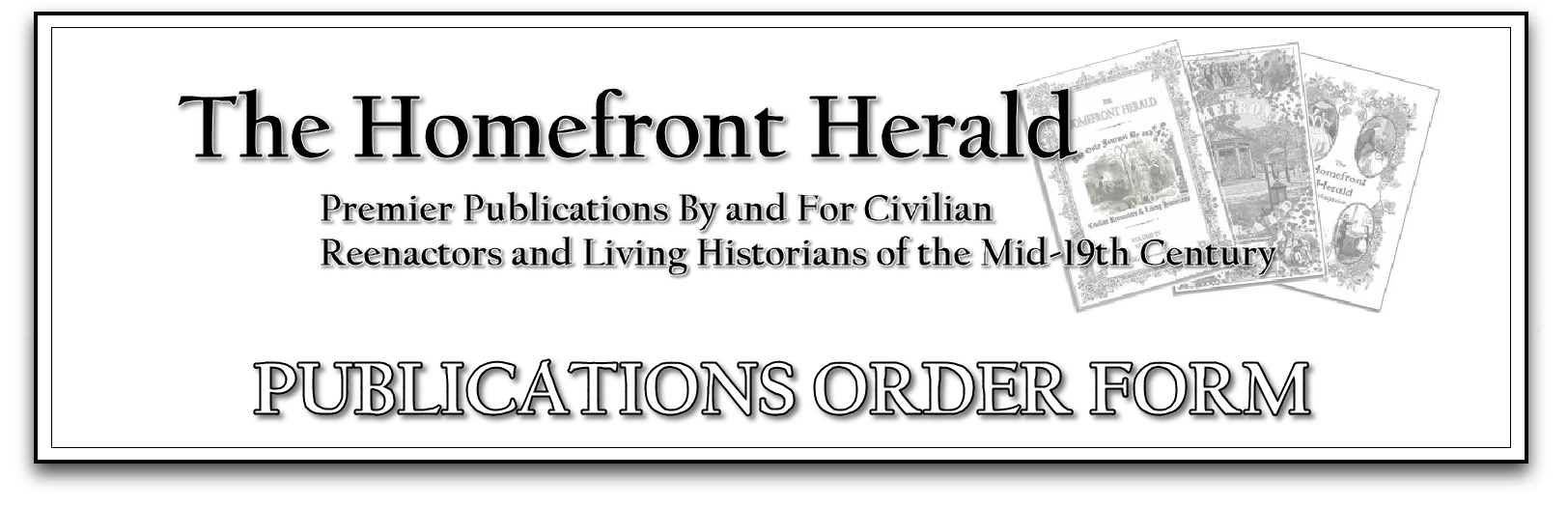 HH Publications Order Form WORKING