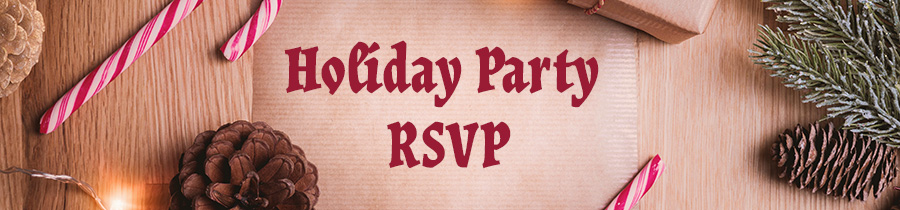 Holiday Party RSVP