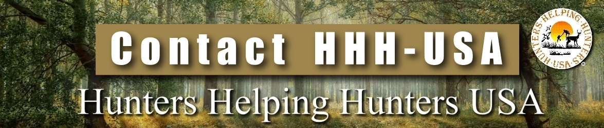 Contact Hunters Helping Hunters USA